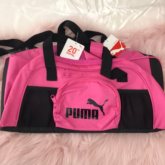 367e3bdc2a Puma Bags | Hot Pink Gym Bag | Poshmark